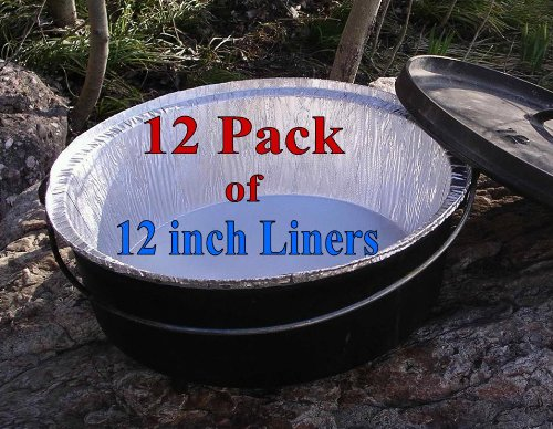 Disposable Foil Dutch Oven Liner is one of our favorite products for Dutch Oven Recipes For Camping
