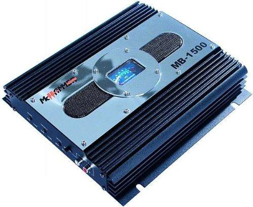 Auto Endstufe McHammer MB-1500 VU-Levelmeter