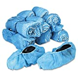 General Supply - Disposable Shoe Covers, Nonwoven Polypropylene, Blue, 150 Pairs/Carton - Sold As 1 Carton - Helps protect shoes from dirt and other work-related contaminants.