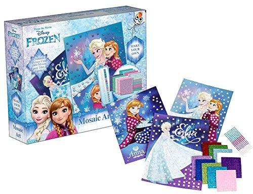 brigamo 5302 disney frozen mosaik kinder bastelset mit vielen glitzersteinen. Black Bedroom Furniture Sets. Home Design Ideas