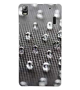 ColourCraft Beautiful Drops Design Back Case Cover for LENOVO K3 NOTE