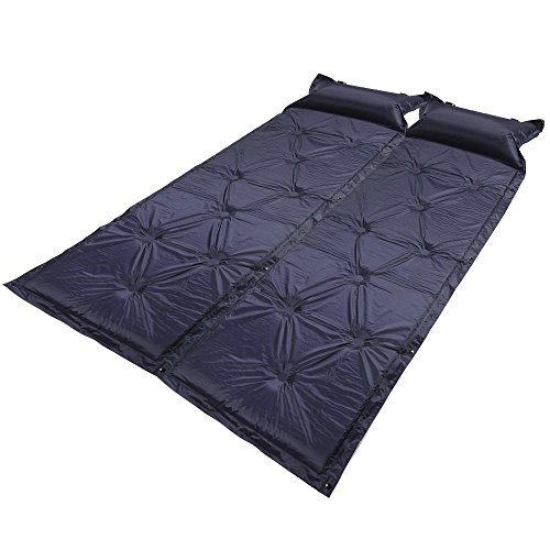 2pcs Self Inflating Air Mattress Pad Pillow Camping