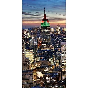 Toile de d coration murale led led tableau illumin for Tableau lumineux new york