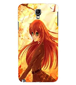 ColourCraft Beautiful Girl Design Back Case Cover for SAMSUNG GALAXY NOTE 3 NEO DUOS N7502