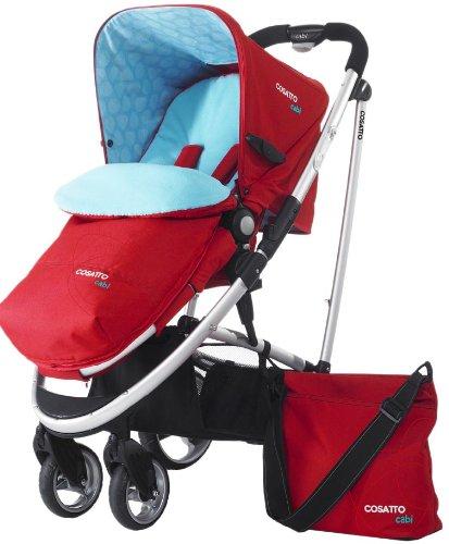 Cosatto Cabi Combination Stroller, Scarlet