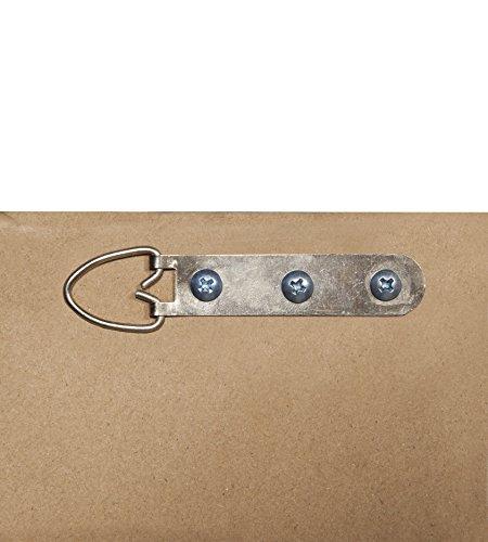 Sandberg Furniture 16011 Full Length Leaner Mirror Frame, Antique Silver/Black 5