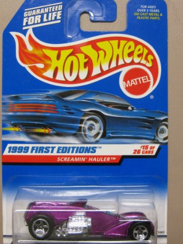 Hotwheels Screamin Hauler-1999 1st Editions #15-26 #918 - 1