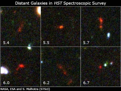 Hubble Takes Faintest Spectroscopic Survey Of Distant Galaxies