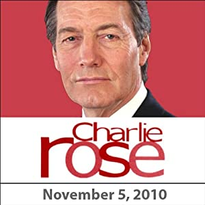 Charlie Rose: Antonio Pappano and Terry McDonell, November 5, 2010 Radio/TV Program