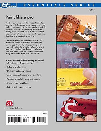 Basic Painting & Weathering for Model Railroaders (Model Railroader Books: Essentials)