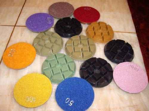 4-damo-diamond-floor-polishing-pads-6-sets42-pieces-for-concrete-terrazzo-granite