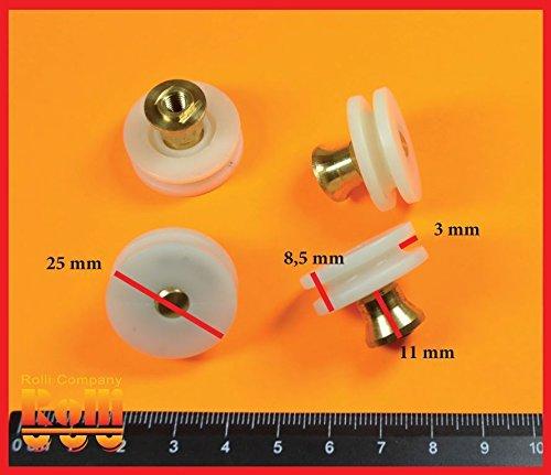 4-rulli-ruote-ruota-rullo-cuscinetti-per-box-doccia-anta-scorrevole-ricambi-a328