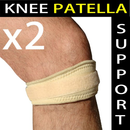 PATELLA Tendon KNEE Pain Brace Support Strap - Adjustable - Buy 1 Get 1 FREE =2!