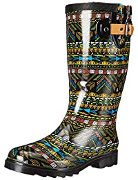 Chooka Women's Mystic Tribal Rain Boot