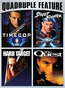 Van Damme Action Pack Quadruple Feature (Timecop / Hard Target / Street Fighter / The Quest)
