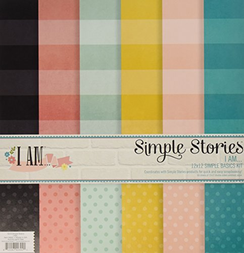 Simple Stories I Am Simple Basics Kit (6 Pack) - 1
