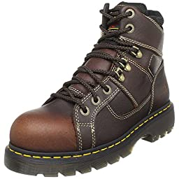 Dr. Martens Ironbridge Safety Toe Boot,Teak,11 UK/13 M US Women\'s/12 M US Men\'s