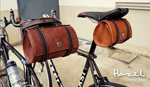 Hazel Design - Vintage Bicycle Saddle Tools Bag 4