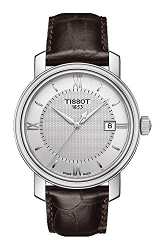 Tissot T0974101603800 Bridgeport Mens Watch - Silver Dial tissot t60 1 588 51