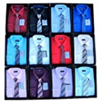 Shirt And Tie Set Boys Formal/Smart S...