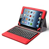 Sale Lumsing Premium New Wireless Bluetooth Keyboard Folio PU Leather Case ... review
