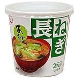 永谷園 カップみそ汁生みそタイプあさげ 長ねぎ 1食×6個