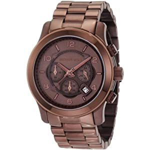 Michael Kors Men's Quartz Watch Runway MK8204 with Metal Strap