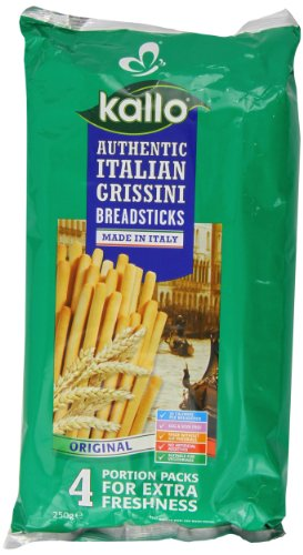 Kallo Primo D'oro Grissini Breadsticks 250 g (Pack of 6)