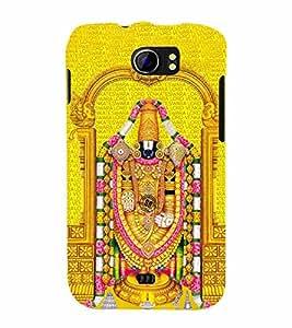 Lord Venkateswara Cute Fashion 3D Hard Polycarbonate Designer Back Case Cover for Micromax Canvas 2 A110Q :: Micromax A110Q Canvas 2 Plus :: Micromax Canvas 2 A110
