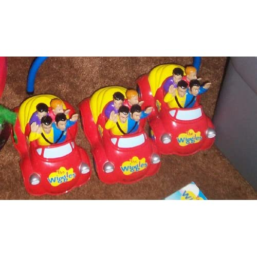 The Wiggles Toot Toot Big Red Car Push Top