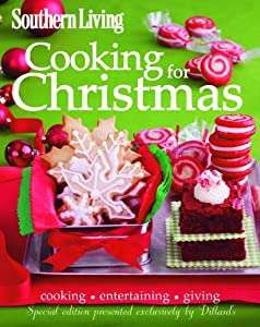 Southern Living Cooking for Christmas Cookbook from Jim Childs