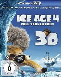 Ice Age 4 - Voll verschoben (+ Blu-ray + DVD + Digital Copy) [Blu-ray 3D]