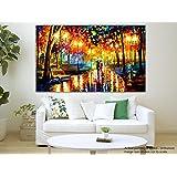 Painting || Paintings || Canvas Painting Canvas Painting - Down The Park - Modern Art - Palete Knife Art - Leonid...