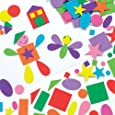Self-Adhesive Foam Shapes (Pack of 180)