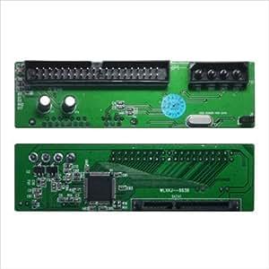 変換名人 SATA → M/B上のIDE変換アダプタ Z型 光学ドライブ対応 IDE-SATAZD2