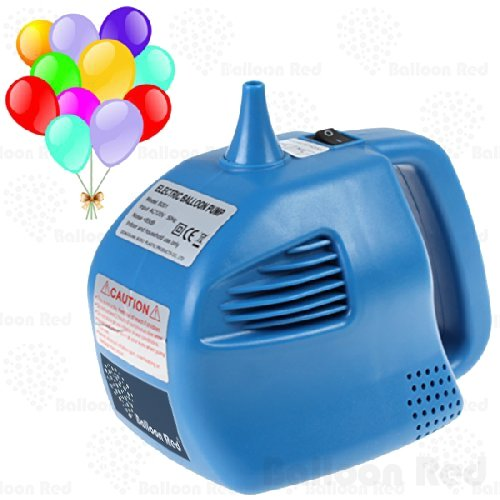 Household Portable Electric Balloon Air Inflator Blower Pump (Super Fast, Single Nozzle), Blue (Red Birthday Blowers compare prices)