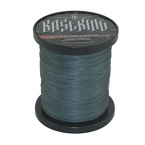 KastKing SuperPower Deap Sea Braid Fishing Line 80LB 100LB – 150LB Advanced 8+ SuperBraid (Low-Vis Gray, 150LB (0.80mm) 68.2KG (1000M /1100 Yds)) Reviews