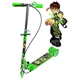 #8: Kids Choice Foldable 3 Wheeler Cycle Height Adjustable with Hand break and Bell
