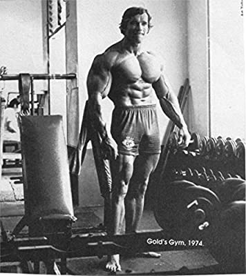 Tomorrow sunny Arnold Schwarzenegger Bodybuilding Bodybuilder barbell dumbbells gyms athletic exercising 24x36 inch Silk Poster wall decor