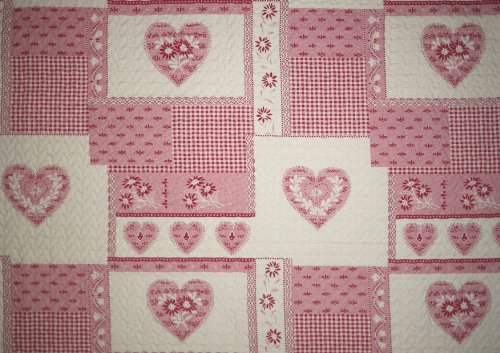 Linder 5025 /69/835/230 - Juego de colcha y 2 fundas de almohada (poliéster, 250 x 230 cm)