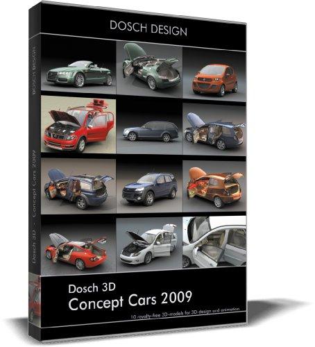 Dosch 3D: Concept Cars 2009 front-326847