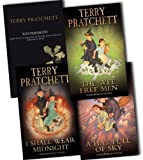 Terry Pratchett Terry Pratchett Discworld Novels 4 Books Collection Pack Set RRP: £32.08 (A Hat Full Of Sky, The Wee Free Men, I Shall Wear Midnight, Wintersmith)