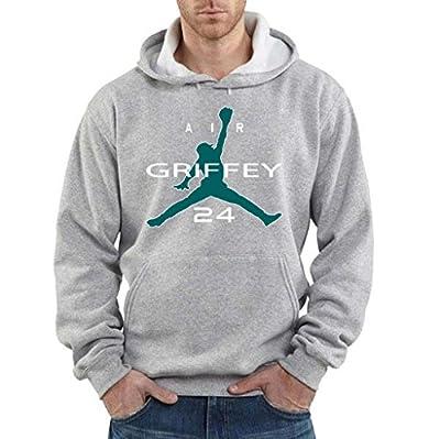 """Ken Griffey Jr Seattle Mariners """"Air Griffey"""" Hooded Sweatshirt"""