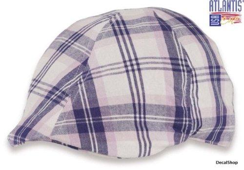 mirage-blanco-morado-tg-unica-57-2f60cm-coppola-100-lino-gatsby-trand-gorro-unisex-sombrero-cap