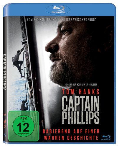 Captain Phillips (inkl. Digital Ultraviolet) [Blu-ray]