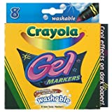 Crayola 8Ct Gel Fx Washable Markers -- Case of 6