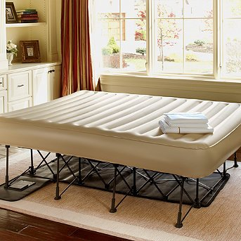 Portable Inflatable Ez Bed With Constant Comfort Pump Queen Frontgate