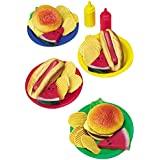CP Toys Vinyl Pretend Play Food for Bar-B-Que / 34 Pc. Set