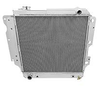 Aluminum 2 Row Performance Radiator for 88-95 Toyota 4Runner//Pickup AWD//4WD V6