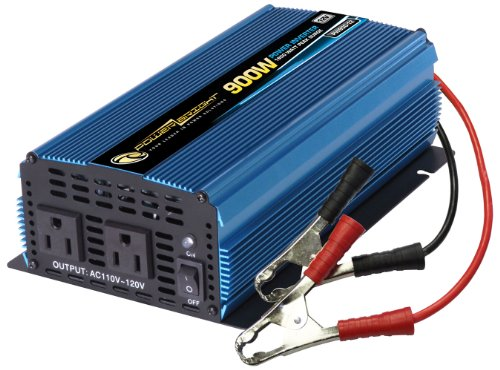 Power Bright PW900-12 Power Inverter 900 Watt 12 Volt DC To 110 Volt AC (Power Bright compare prices)